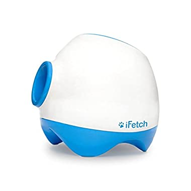 iFetch Too Interactive Ball Thrower for Dogs- Launches Standard Tennis Balls, Large