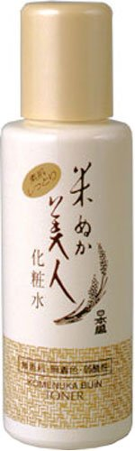 Komenuka Bijin All-Natural Skin Lotion (Toner/After Shave) with Rice Bran - 120ml