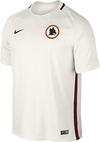fan products of Nike Mens AS Roma Stadium Jersey-PHANTOM (L)