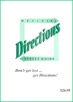 Read Online Directions Official Street Guide to Las Vegas Metro Area ebook