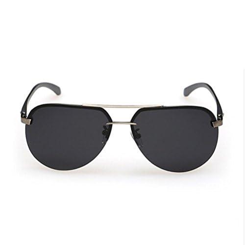 ab5238fcc7 Z&YQ Ingreso de hombres de gafas de sol de la personalidad de la  personalidad gafas de sol de la manera del espejo del yurt marco grande  vidrios polarizados ...
