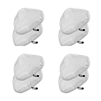 Pack of 2 Universal Cleaning Pads Compatible with X5 and Vax S2 Steam Mops