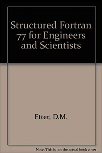 Computing for Engineers and Scientists with Fortran 77