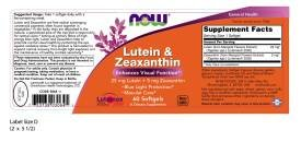 Now Foods, Lutein & Zeaxanthin, 60 Softgels - 2PC by NOW Foods