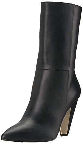 BCBGeneration Women's Leslie Smth Brn Vachetta Fashion Boot, Black, 7.5 M US