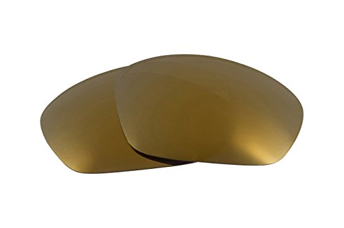 Replacement Lenses Compatible with OAKLEY Straight Jacket 24K Gold Mirror