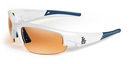 MAXX SUNGLASSES HD LOS ANGELES DODGERS DYNASTY 2.0 (WHITE, NAVY, - Dodgers Sunglasses