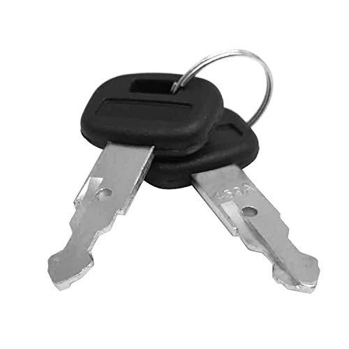 Aree Pair (2 Keys) Kubota New M Series Mini Excavator Equipment Keys-Part Number 459A - Mini Excavator Parts