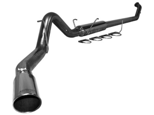 (MBRP S6126409 T409 Stainless Steel Turbo Back Single Side Exit Exhaust System)