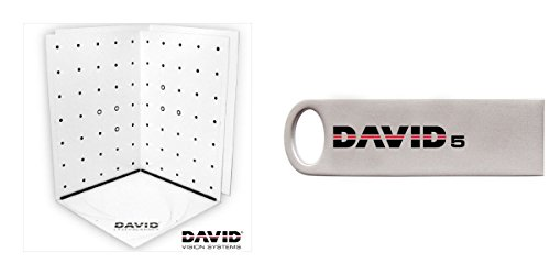 Bundle DAVID5 USB - 3D Scanning Software + Calibration Panels Set by DAVID Vision Systems