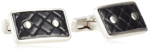 Leather And Silver Cufflinks - 7