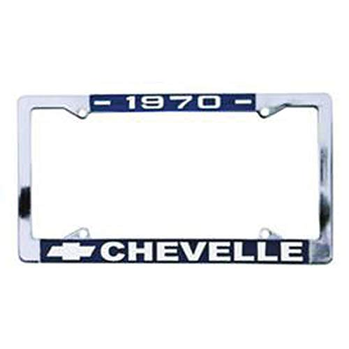 Eckler's Premier Quality Products 50-211995 Chevelle License Plate Frames,