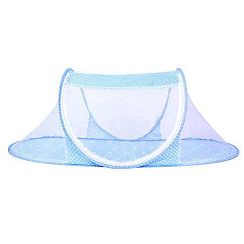 Children Mosquito Net Summer Ultra Thin Folding Baby Travel Bed Crib Portable Baby Cots Multi Function Baby Bedding for…