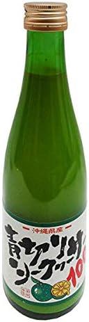 青切りシークワーサー100 300ml ×12本 沖縄特産販売 果汁100% 沖縄産 ギフトにもオススメ