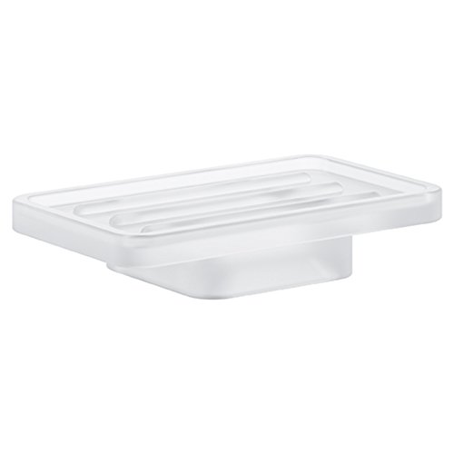 GROHE 40806000 Selection Cube Soap Dish, Starlight Chrome by GROHE