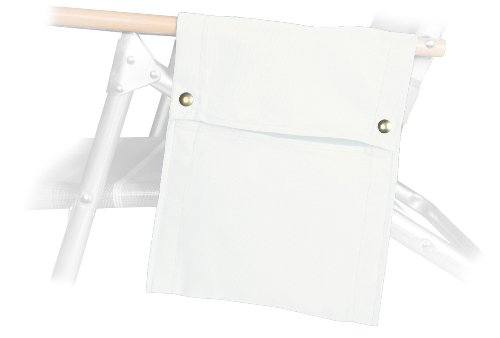 Telescope Casual Beach Chair Side Bag, White by Telescope Casual