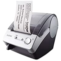 Ql-500 Affordable Label Printer, 50 Labels/min, 5-7/10w X 6d X 7-4/5h By: Brother