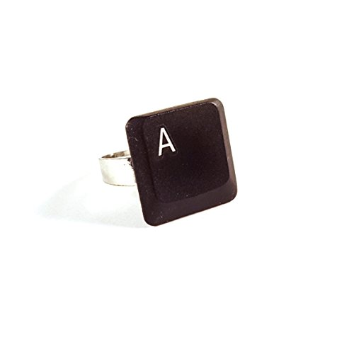 Adjustable-Upcycled-Keyboard-Ring-A