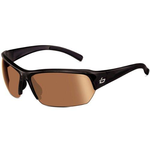 Bolle Ransom Sunglasses (Photo V3 Golf , Shiny Black) (Photo Lens V3 Golf)