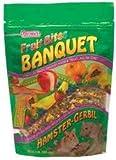 Small Animal Supplies Fruit Bites Ham/Gerbil Banquet 2Lb Pouch 6Pc