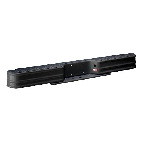 1981 Toyota Pickup Bumper - Fey 61000 DiamondStep Universal Black Replacement Rear Bumper (Requires vehicle specific mounting kit sold separately)