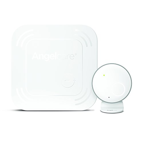 Angelcare Baby Monitor with Movement Alarm and Wireless Breathing Sensor Pad (AC017) (Under Mattress Sensor)