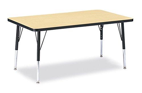 Berries 6473JCE011 Rectangle Activity Table, E-Height, 30