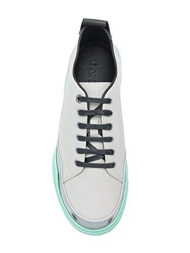 Pelle grigio Lanvin Fmskdindmasoe1800 Uomo Sneakers Bianco XRtR6w