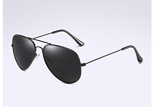 UV400 de Guide TL gray Polarisée Lunettes Sunglasses Lunettes Retour Lunettes Hommes dans black Soleil l'alliage HBvwntqB