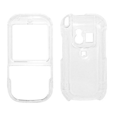 Clear Snap-On Cover Hard Case Cell Phone Protector for Palm Centro 690 (Palm Centro 690)