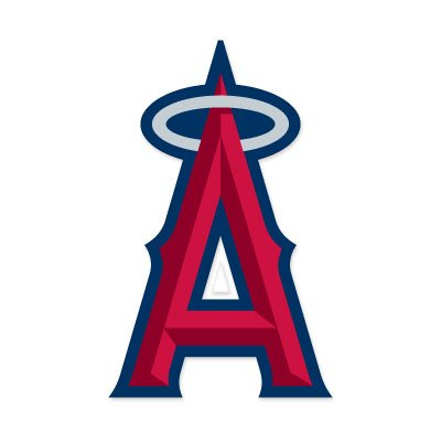 "Anaheim Angels MLB Extra Large Sticker (17"" x 11"") Cornhole Wall Car"
