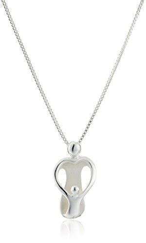 Sterling Silver Loving Pendant Necklace
