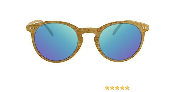 Gafas de sol efecto madera- certificado CE UV400 y protección CAT3 - Calgary: Amazon.es: Ropa y accesorios
