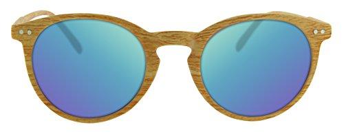 CE madera certificado CAT3 protección y sol efecto Calgary UV400 Gafas de wqXItt