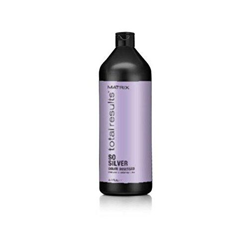 マトリックスの総結果色夢中そう銀シャンプー(千ミリリットル) x2 - Matrix Total Results Color Obsessed So Silver Shampoo (1000ml) (Pack of 2) [並行輸入品] B072HJ6ZYQ