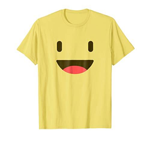 Grinning Face Shirt - Emoji Halloween -