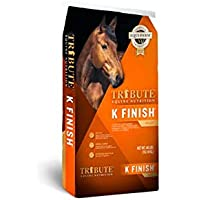TRIBUTE Kalmbach Feeds K Finish for Horse, 40 lb