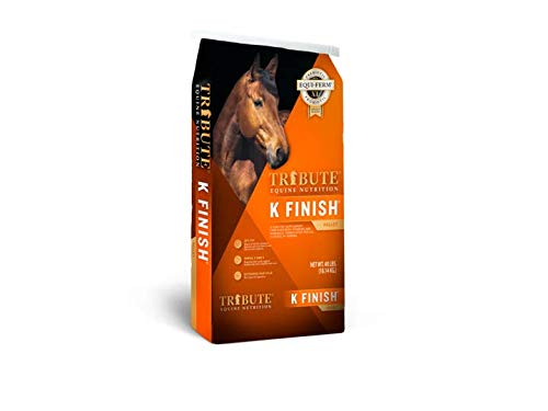 Kalmbach Feeds Tribute K Finish for Horse, 40 lb by Kalmbach Feeds