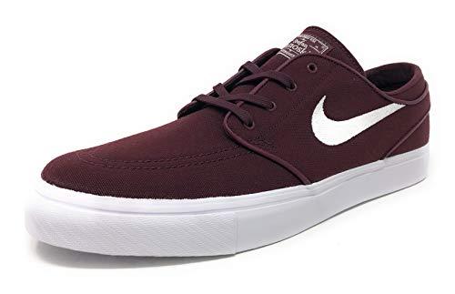 Nike SB Mens Stefan Janoski CNVS Burgundy Crush/Phantom White 615957 605 (US 11) (Nike Sb Stefan Janoski Air Max Khaki)