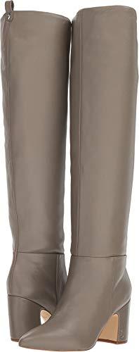 Sam Edelman Women's Hutton Knee High Boot, Flint Grey Leather, 7.5 M US