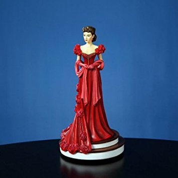 (The San Francisco Music Box Company Scarlett's Red Dress 9