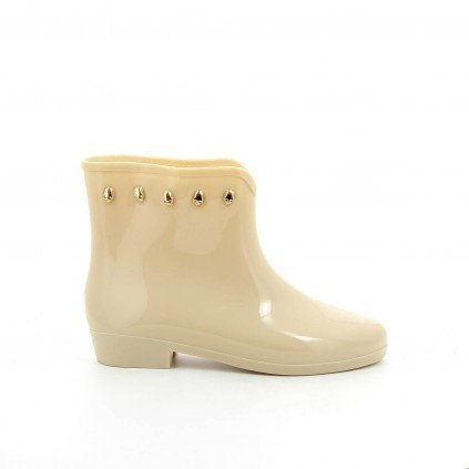 Ideal Shoes, Damen Stiefel & Stiefeletten Beige - Beige