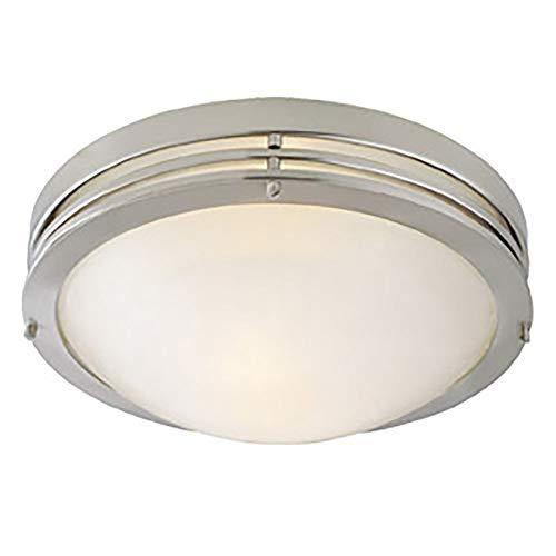 Design House Ceiling Mount - Design House 503284 2 Light Ceiling Light, Satin Nickel