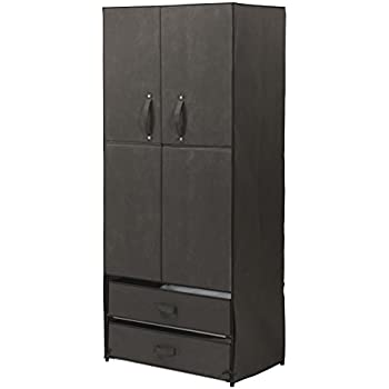Miles Kimball Clothing Wardrobe With Magnetic Doors XL