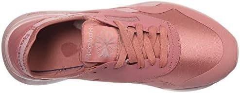 Reebok Women's Classic Nylon Sneaker, Baked Clay/Smoky Rose, 8 M US