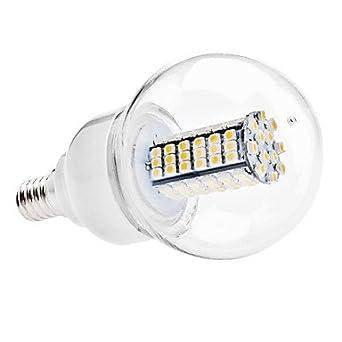 E14 5 W 102 x 3528 SMD 400 – 420LM 3000 – 3500 K luz blanca cálida ...