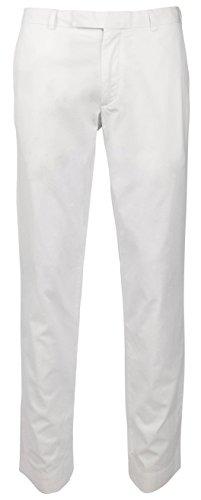 - Polo Ralph Lauren Men's Tailored Slim Fit Cotton Chino Pants-W-34Wx34L White
