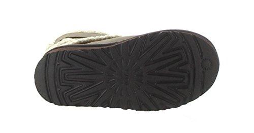 UGG Australia Girl's Cambridge Leather Chocolate Leather Boot 13 M US by UGG (Image #3)