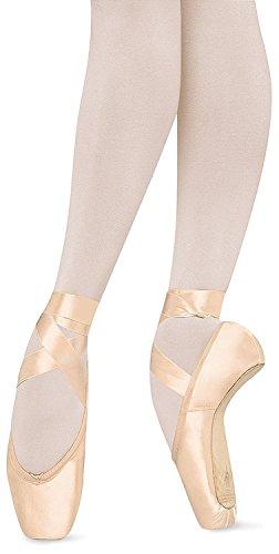 Bloch Women's Suprima Pointe Pink Ballet Flats 6.5 C