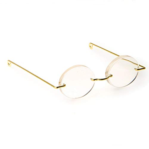 - Bulk Buy: Darice DIY Crafts Doll Glasses Acrylic Oval Lens 3 inches (6-Pack) 1211-20
